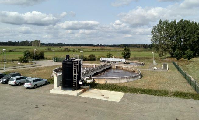 Kläranlage Löcknitz - Belebung und Nachklärbecken