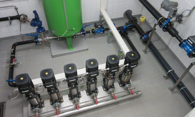 Druckstation Penkun - Pumpenstrecke